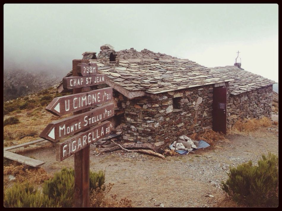 Chapelle st jean !! Corse Hello World Montagne Nature