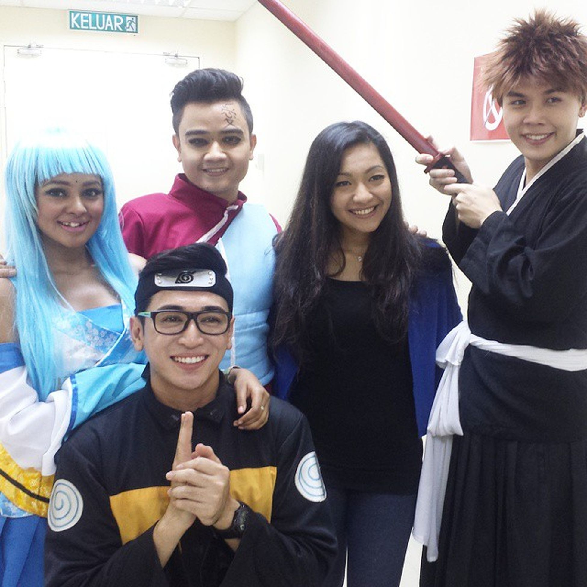 At SOX2014 Grand Finale with the OhMyEnglish bunch