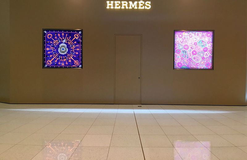 Hermes Hermès Store Design Storefront Store Window Storephotography Store Decor From My Point Of View Artistic Travel Traveling Travel Photography IPhoneography Iphonephotography UAE UAE , Dubai Emirates Dubai DubaiMall