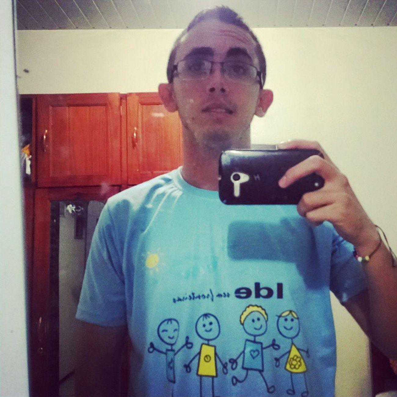 Camisa nova... IDE... énois LampsEmAção Dehj