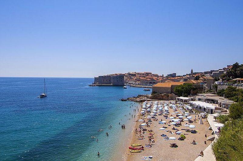 Banje Beach | Dubrovnik, Croatia Travel Dubrovnik Croatia Banjebeach