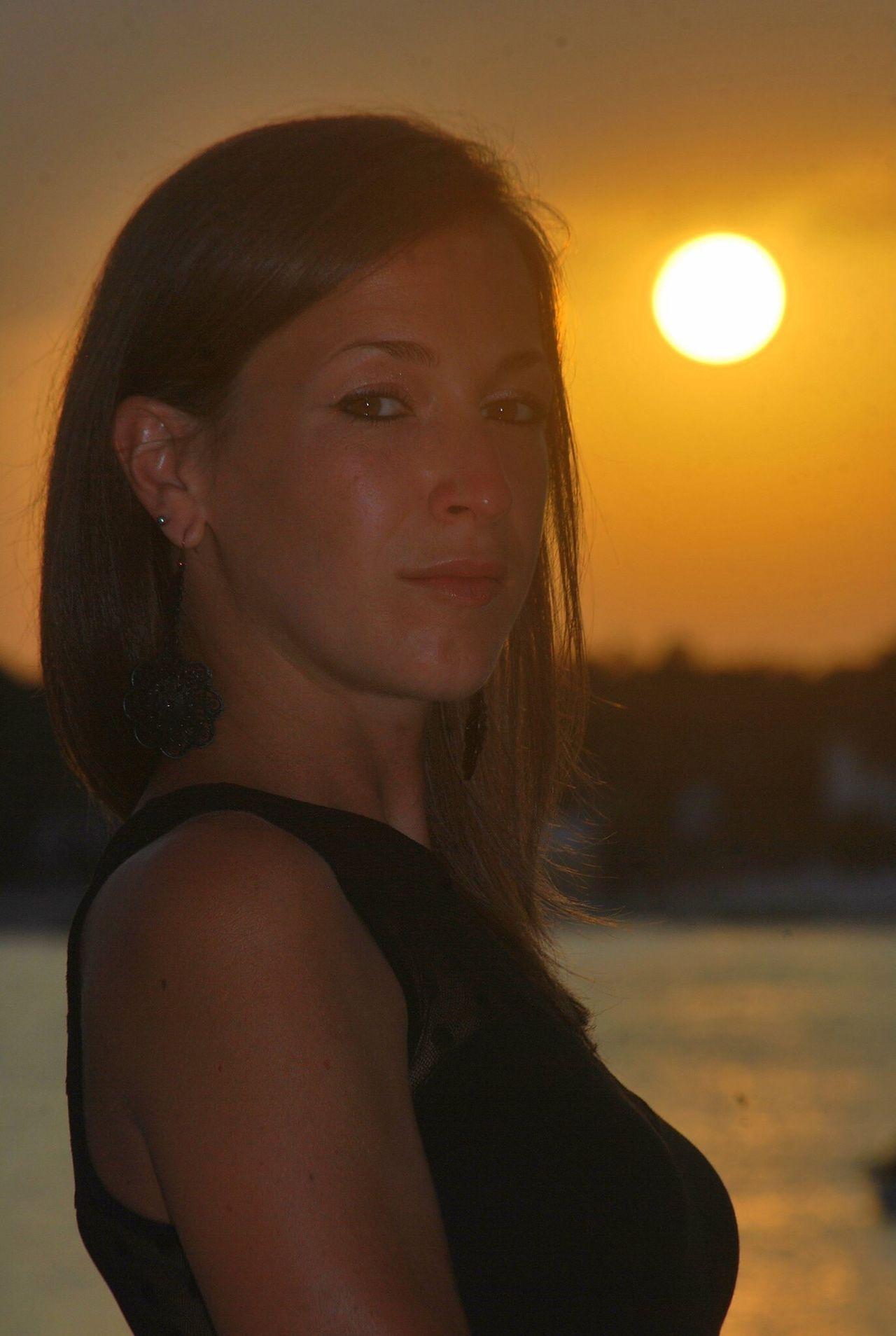 Real People Sunset Me (null) Portrait Nature Sea