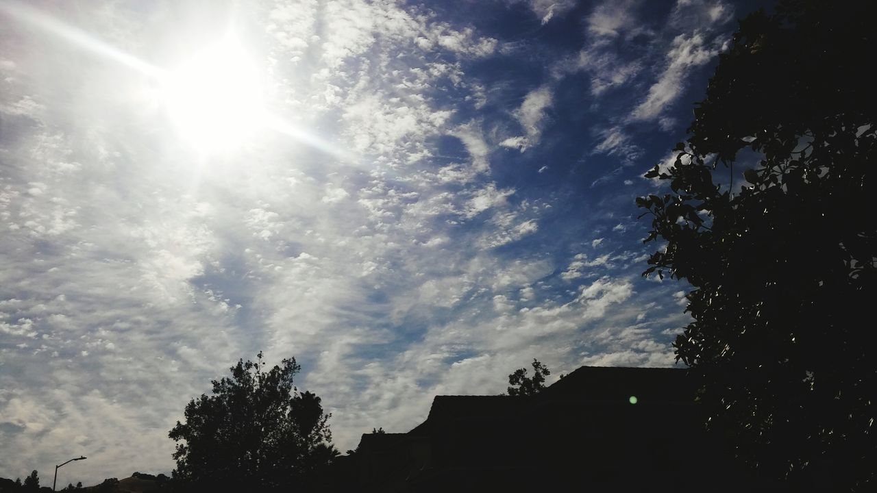 Mid Day Sun And Clouds Smartphone Photography Enjoying Life Calisky From My Point Of View Norcal Cali Life My Cali LifeVaca Hills