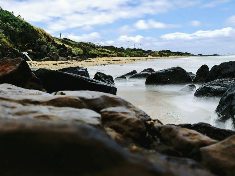 Silky Water Beach Mordialloc Pier Australian Beaches Australia Adventure Love♥ HuaweiP9