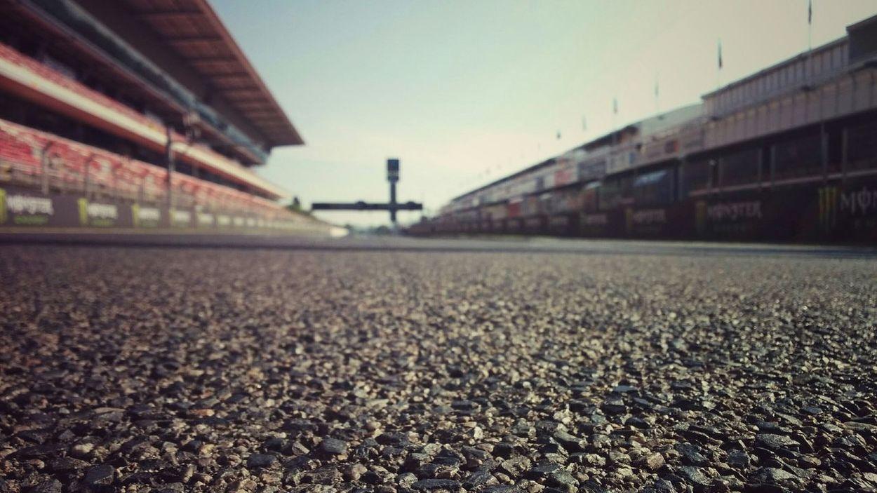 Racing Racing Racing Track Circuit De Catalunya Barcelona Catalunya Motogp Moto Asphalt First Eyeem Photo