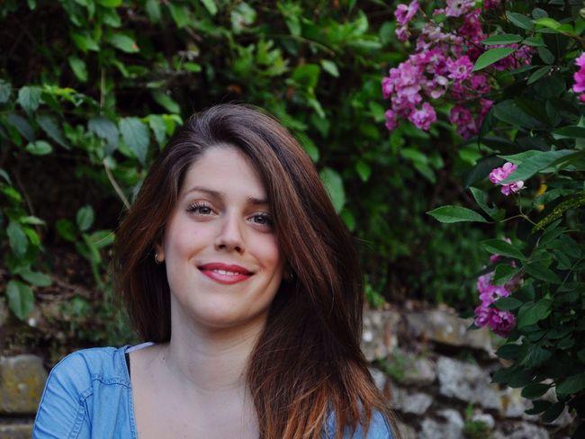 Chiara The Portraitist - 2015 EyeEm Awards Color Portrait Model Cheese! Beauty Nikond90 Sunny Day Portrait Of A Woman
