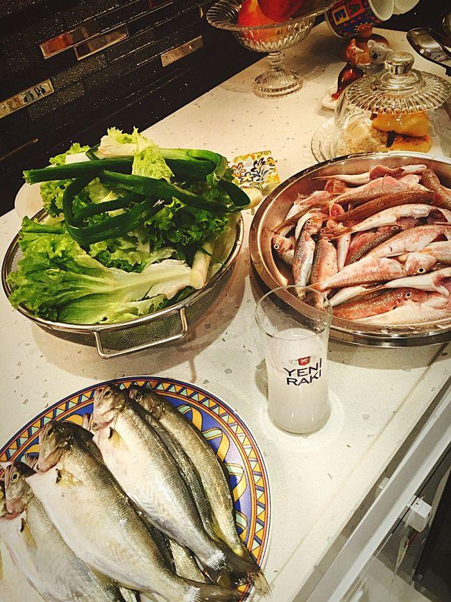 Sunday Rakı-Balık Fish Raki And Fish Cheers Enjoying Life Open Edit Enjoying A Meal Nazdrovia Bonappetit