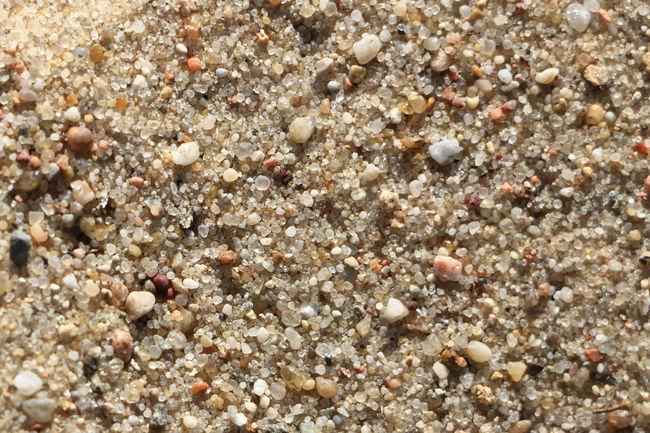Rough grains of sand on windy beach Grains Of Sand Sand Sandkörner Small Stones Steinchen Steine Stones