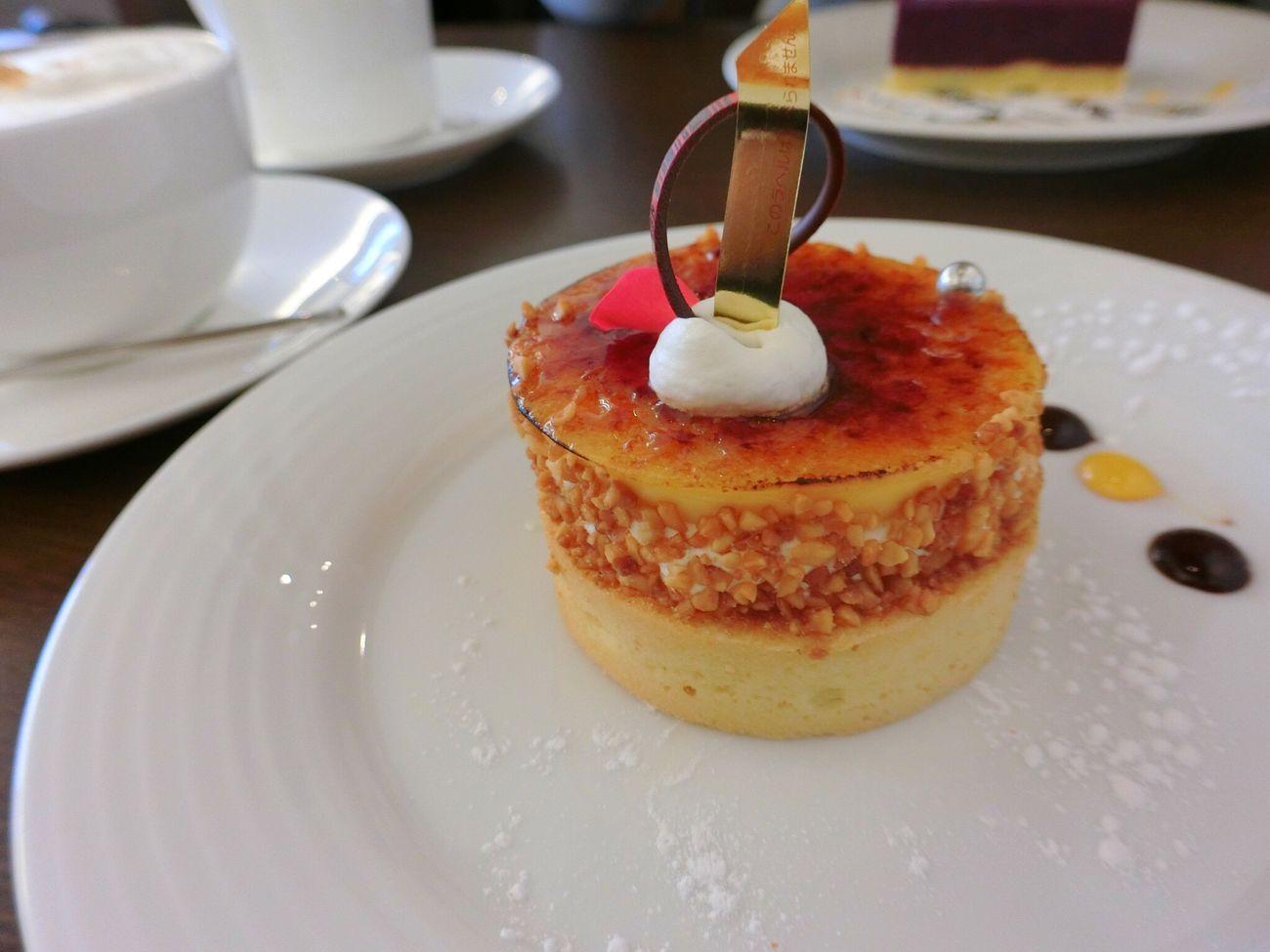 クリームブリュレ ケーキ Cake Sweet Yummy Happy 名古屋 Japan