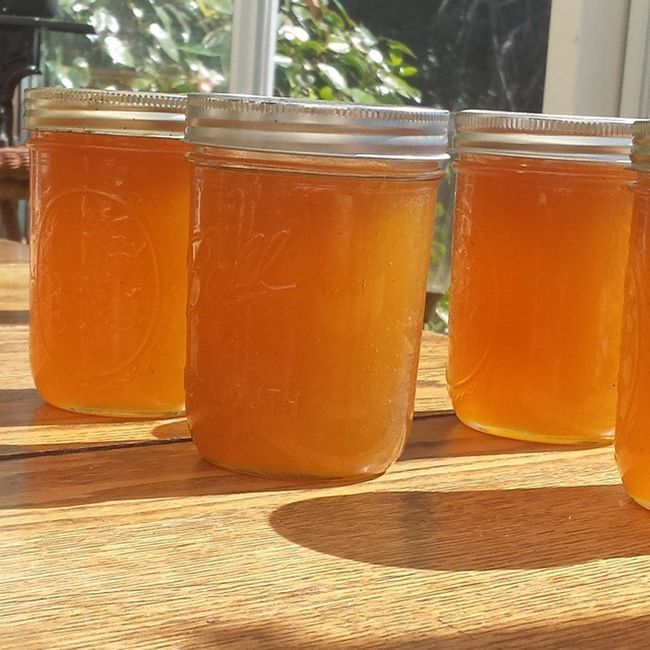 We harvested out the warped cone in the hives and got some amazing mint honey. Permaculture Rawhoney Bees PNW Minthoney Staygoldponyboy
