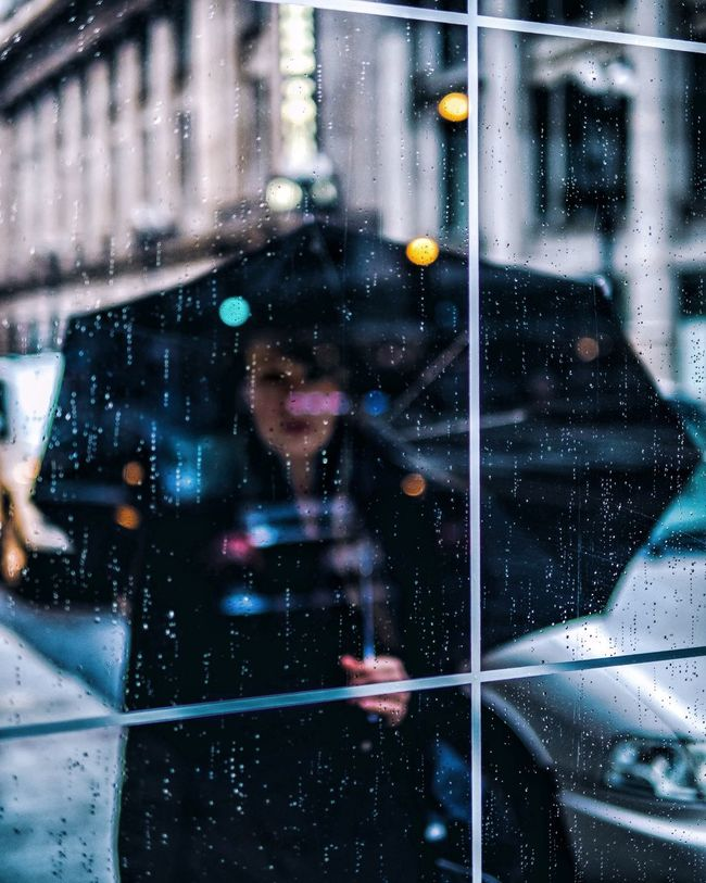 Mood EyeEm Best Shots Colors Kitty Rain Raindrops Water Droplets Umbrella
