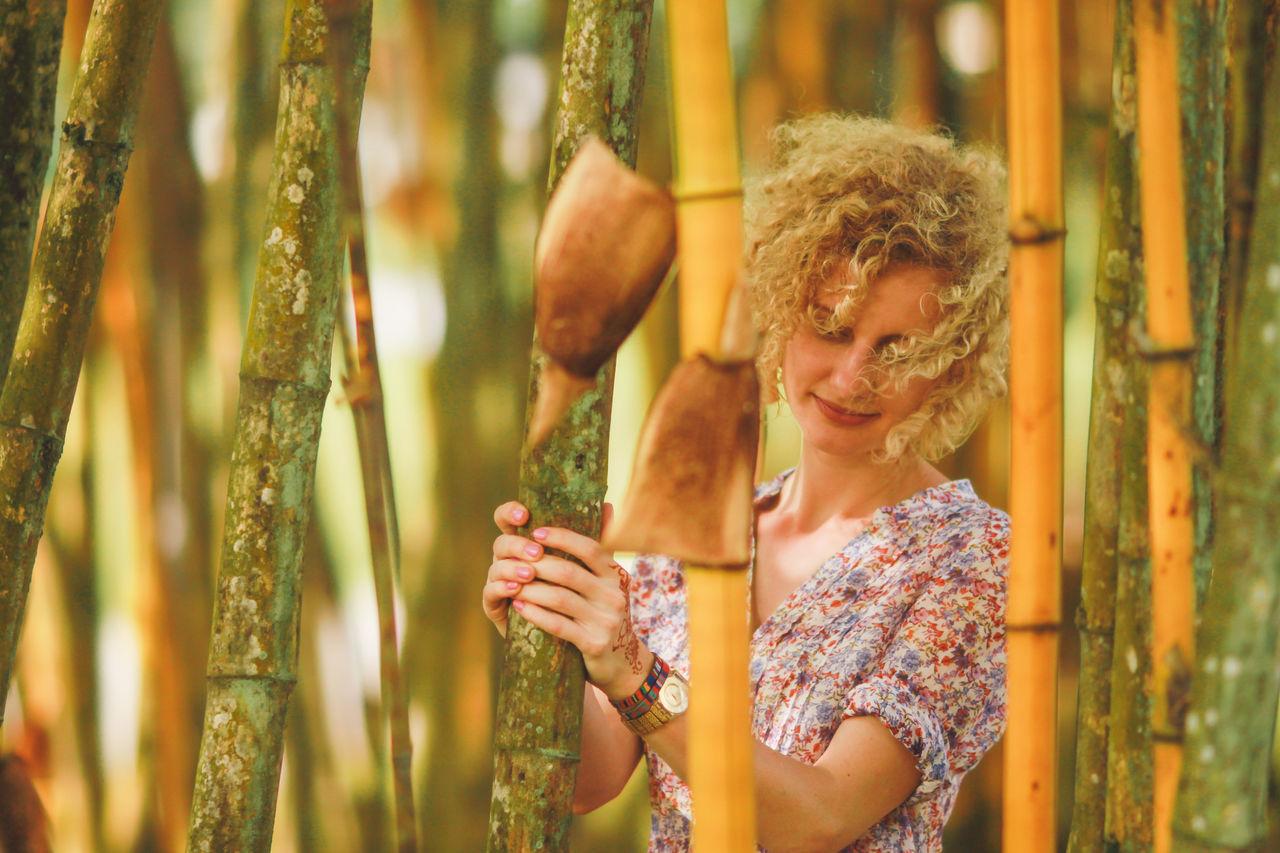 Beautiful stock photos of lifestyle, 25-29 Years, Bamboo - Plant, Beautiful Woman, Beauty