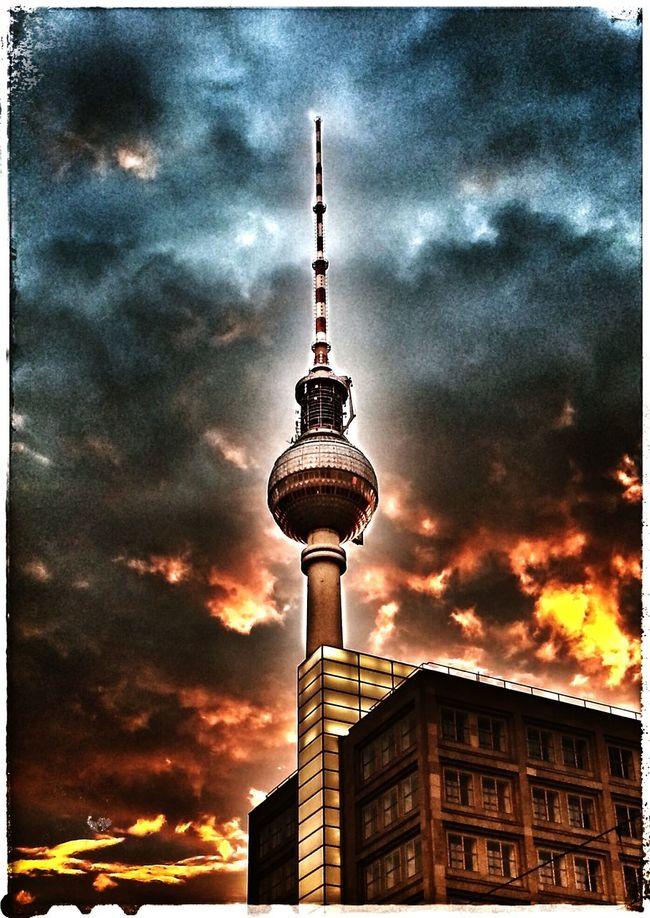 Alex Fernsehturm TV tower