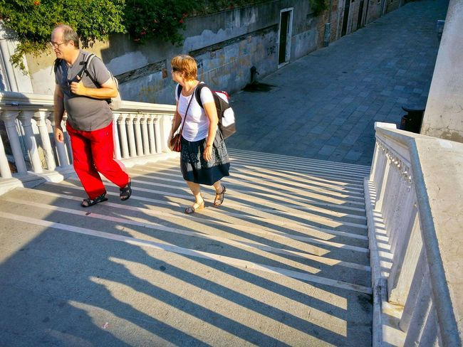 Bridges Steps And Staircases Converging Lines Tourists Wanderlust Venice Veneto Italy Travel Photography Traveling Travel