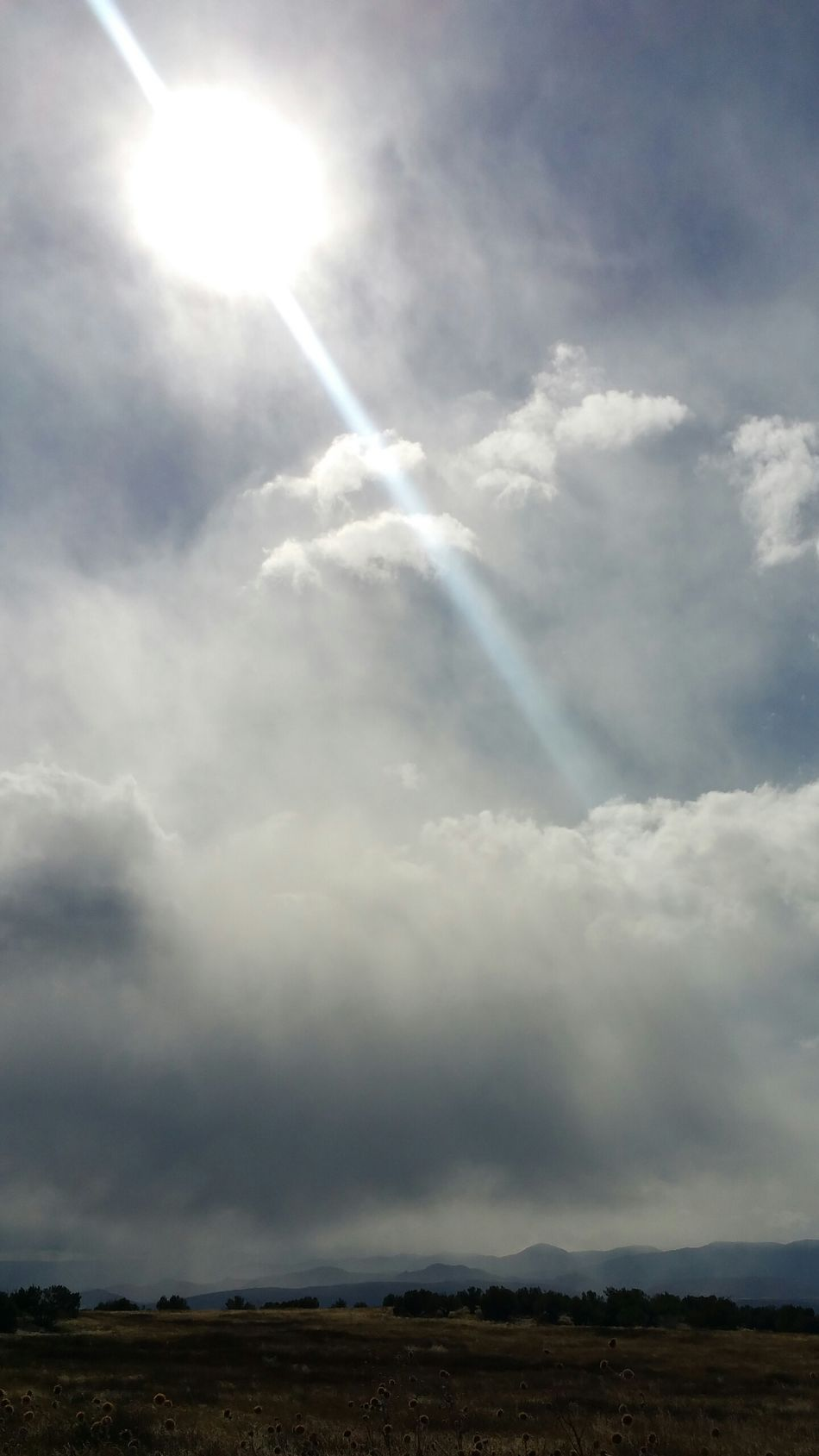 Storm Clouds Gathering Clouds Over The Mountains Fall Brisk Storm Clouds Mountains Blue Sky Sun Rays Sun Trees