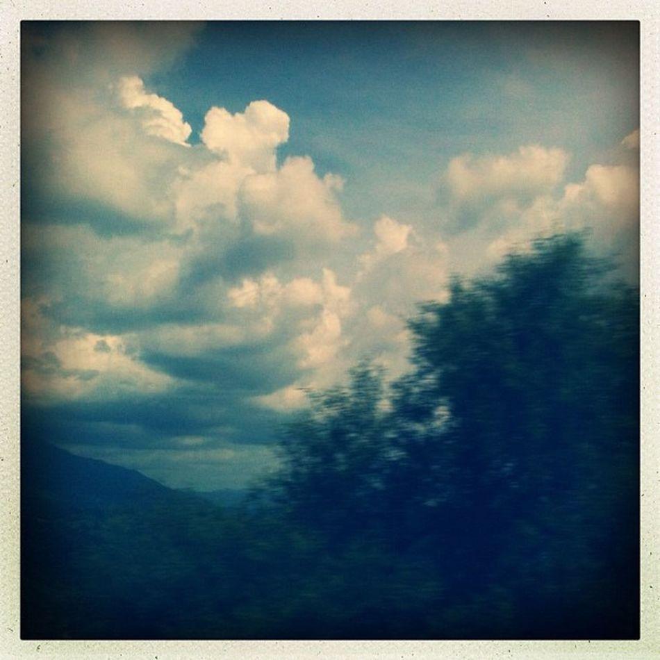 Regreso borroso Clouds Hipstamatic Sky Tree Cloud Cielo Nubes árbol Mextagram Nube Igersmexico