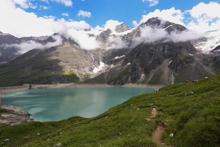 Austria Austria Mountains Austrian Alps Hiking Hikingadventures Hydroelectric Power Hydroelectric Stati LeVee Mooserboden Mountain Mountan Nature Stausee Stausee Mooserboden Travel Travel Destinations Travel Photography Traveling Water Weir