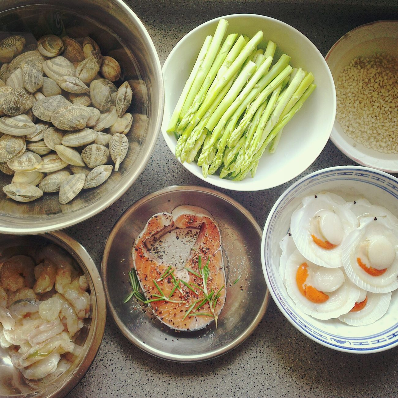 想念為你準備晚餐的那份幸福 Seafood Cooking At Home Dinner Date