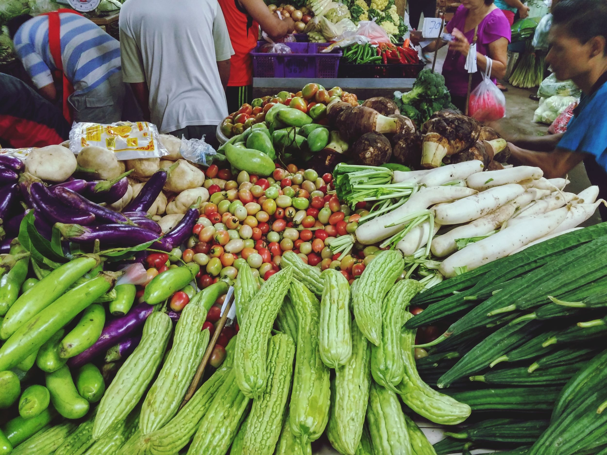 Fresh Vegetables Vegetables Photo Morning Market Market