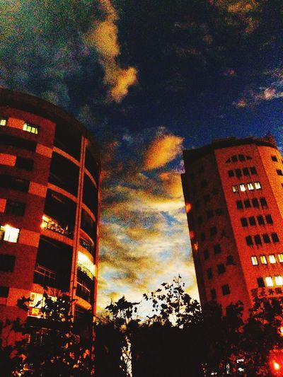 天空的颜色依然是那么美丽 Sky Skyporn Clouds And Sky Sky And Clouds