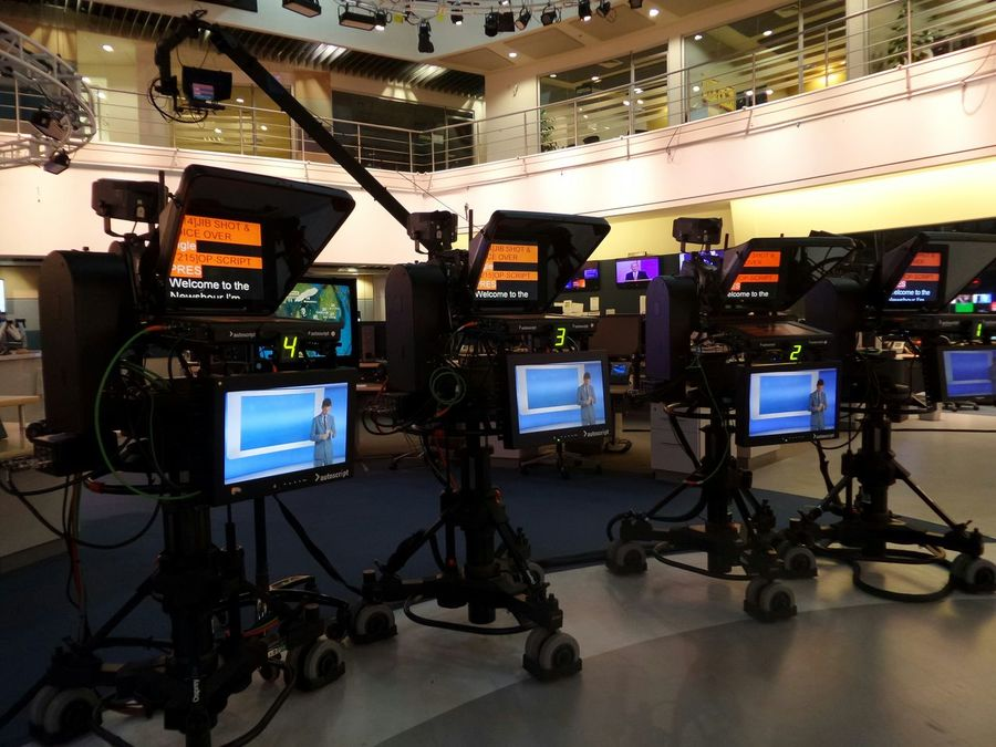 TV Studio The Human Condition Making Television