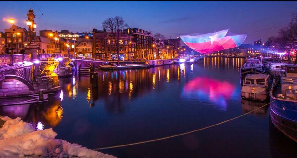 Colour Of Life Amsterdam Lightfestival My City First Eyeem Photo
