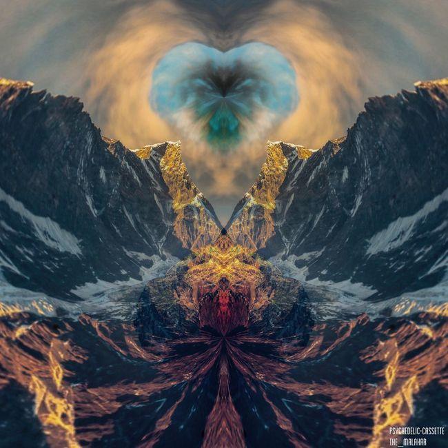 Photomanipulation Mountains Nature Surreal EyeEm Exclusive  Edit Editing Photo Manipulation Nepal Psstime Activity