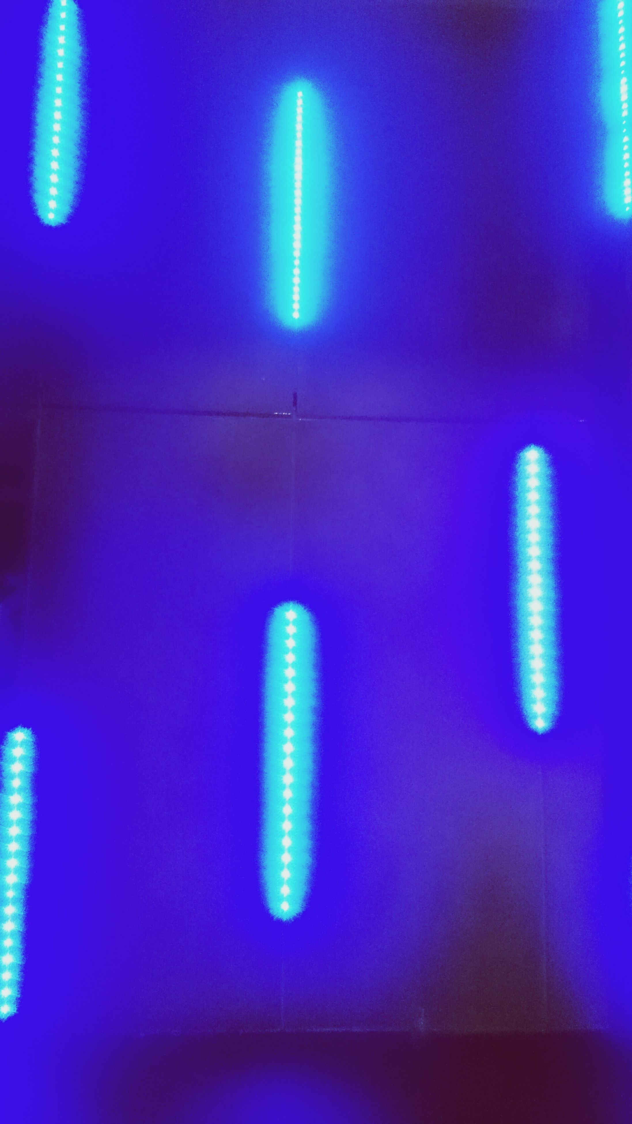 blue, close-up, no people, illuminated, indoors, neon, technology, day