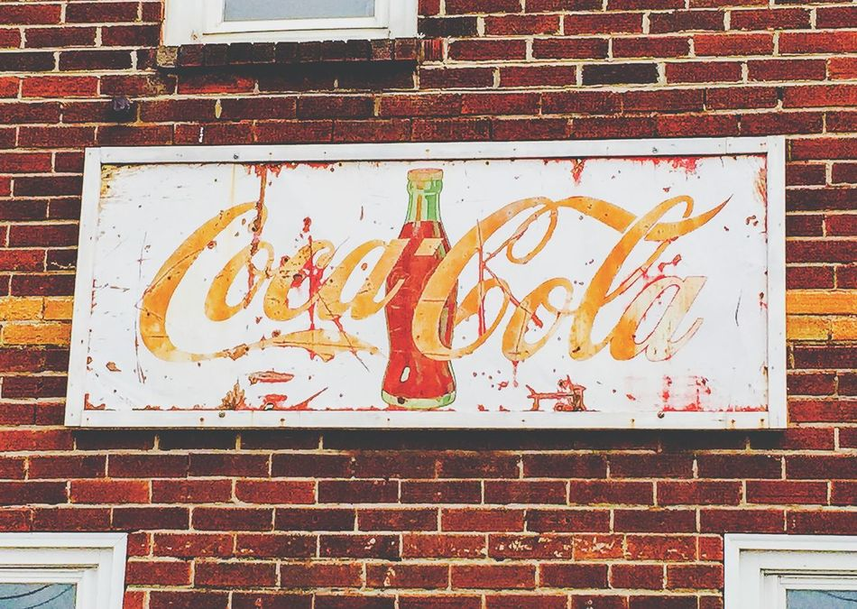 Cocacola... IPhoneography Eye4photography  Simplicity Lines Streetphotography Urban Geometry Signs Cocacola Urban Exploration Urban