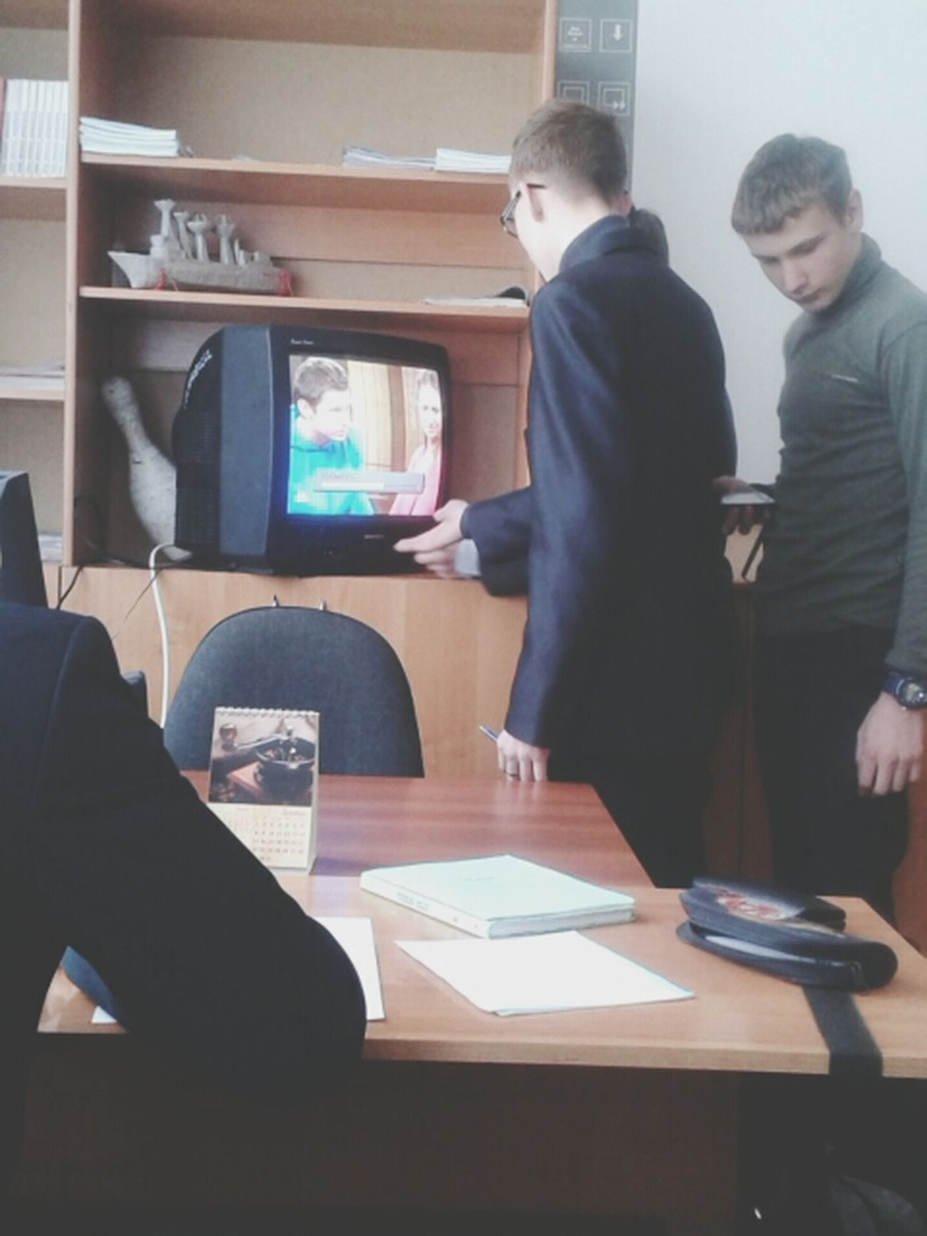 This Is Russia Usual Lesson Watch TV :D