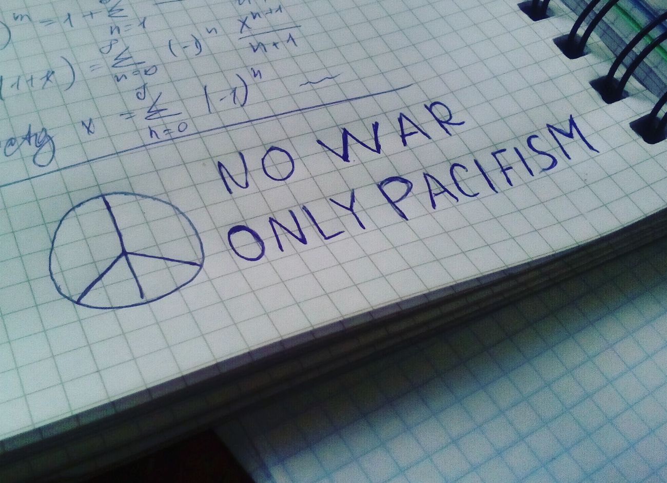 No war, only Pacifism!