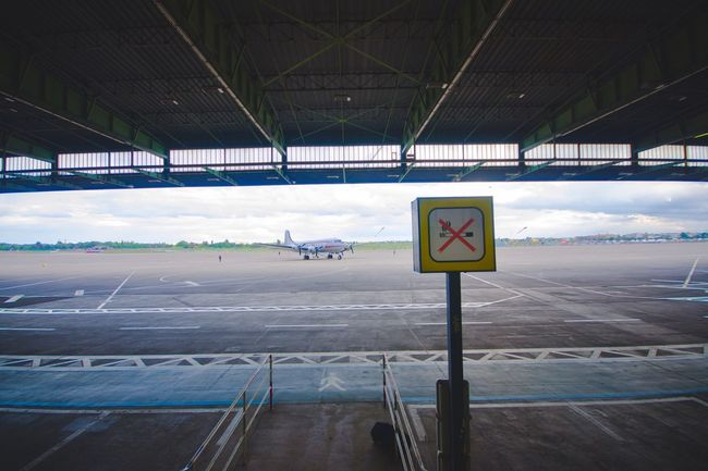 My Eyes My Berlin Transportation Airport Airplane No Smoking Film Still Life Travel Architecture My Eyes For Architecture City Cityscapes Gangway Landscape Outdoor Fantasy Dreaming Landscapes Urban Exploration