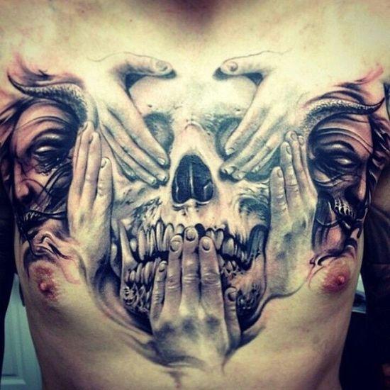 People Tattoo Color Portrait Tattoos Blackandwhite