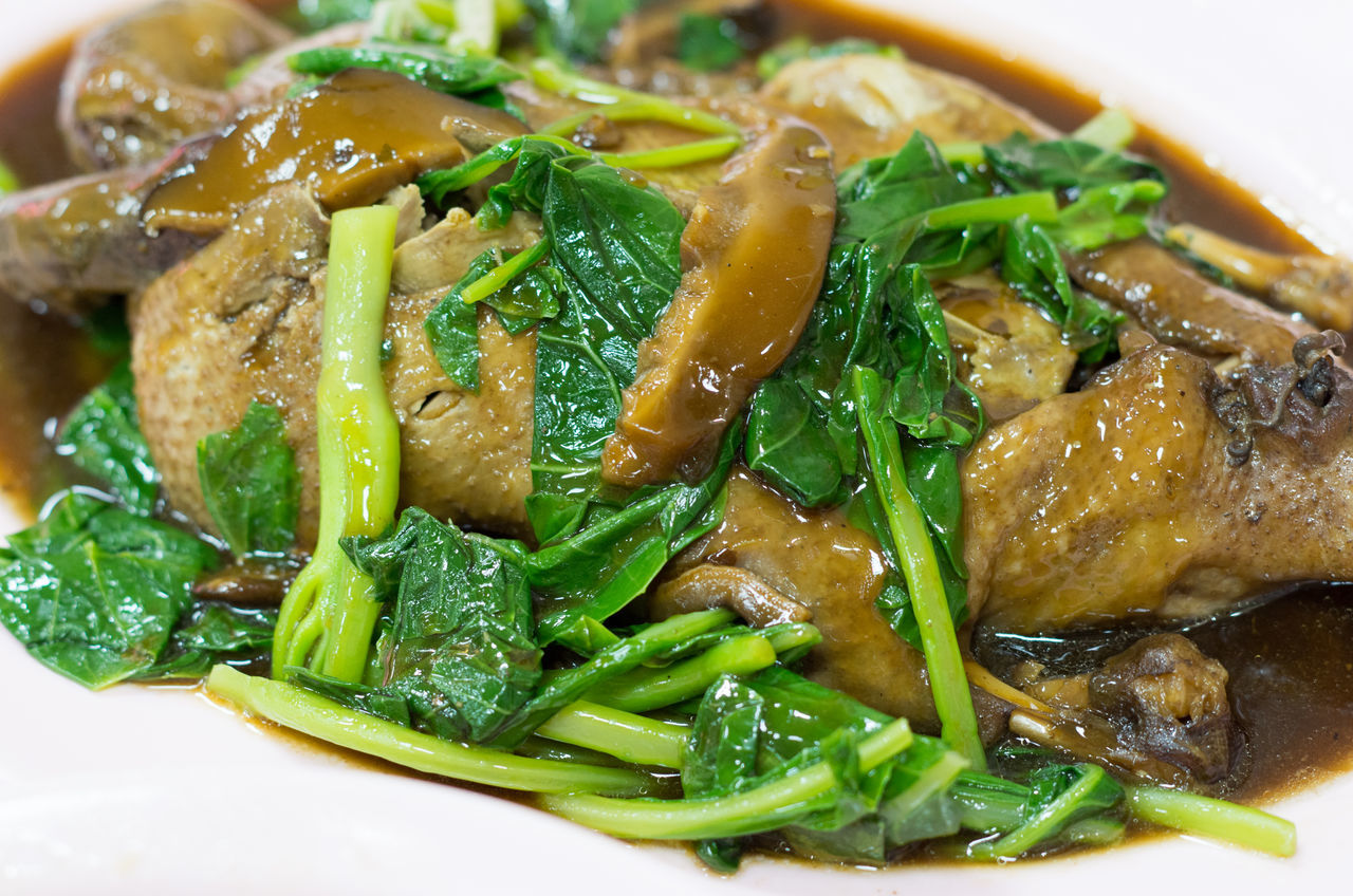 Close-up Day Food Food And Drink Freshness Healthy Eating Indoors  No People Ready-to-eat Steamed Duck Thaifood