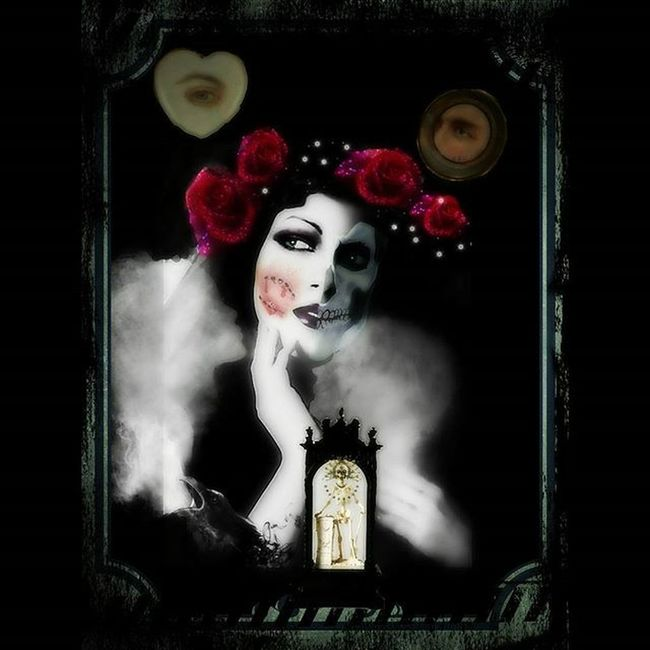 Mementomori Victorian Death Darkart Digitalart  Photomanipulation