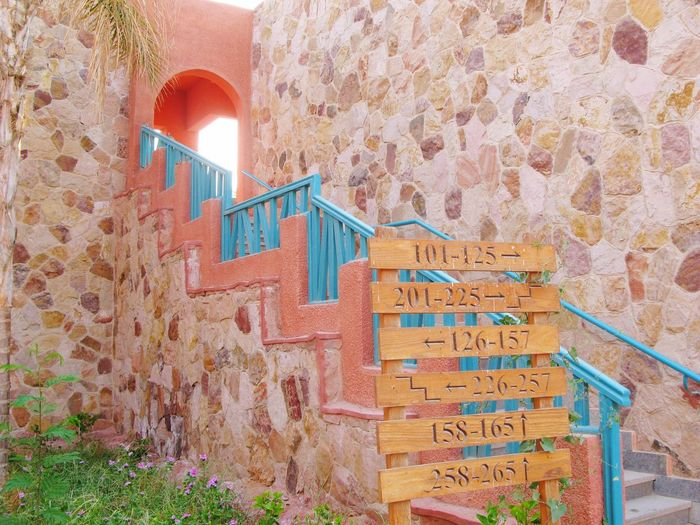 Architecture Built Structure Steps And Staircases Staircase Day Building Exterior Colors Egypt Route Street
