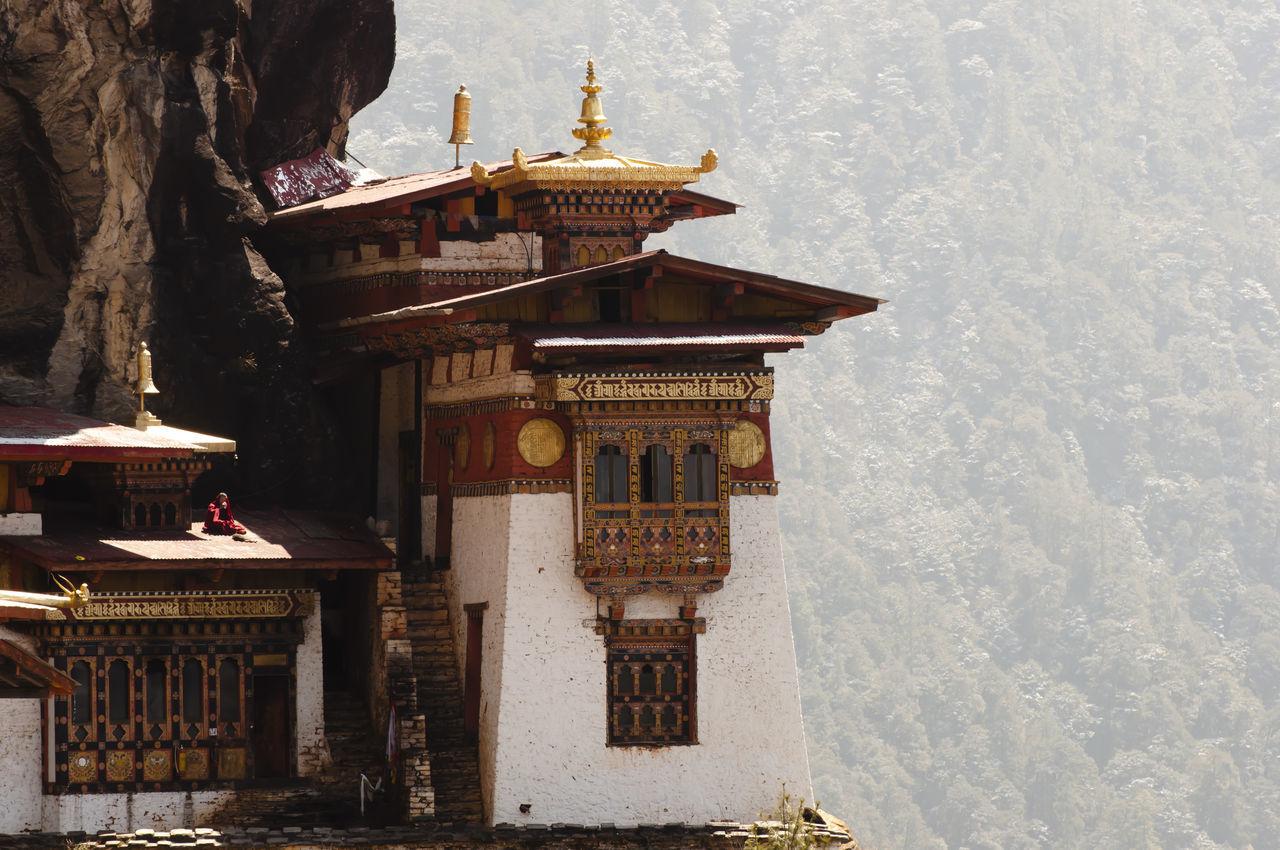 Taktsang Monastery (Tiger's Nest) - Bhutan Monastery Taktsang Taktsang Monastery Tiger's Nest Bhutan Paro Place Of Worship