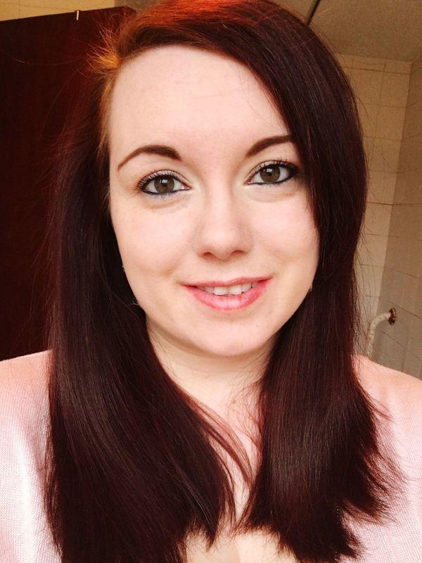 Needing a haircut Thats Me  Smile Scottish Lass Selfie Ginger Scotland Redhead Hair Cut