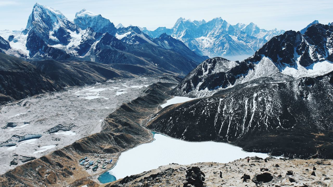 The Great Outdoors - 2016 EyeEm Awards View from Gokyo Ri