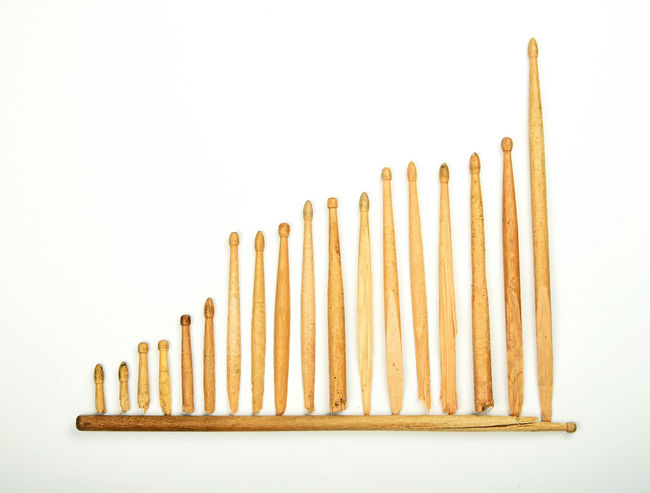 Evolution of skill - you have to break a lot of drumsticks before you are qualified. Axis Broken Chart Diagram Drum Drumstick Drumsticks Evolution  Growing Growth History Improvement Improving Music Q Rock Series Skill  Skills  Sticks Used Wooden Your Design Story Rethink Things