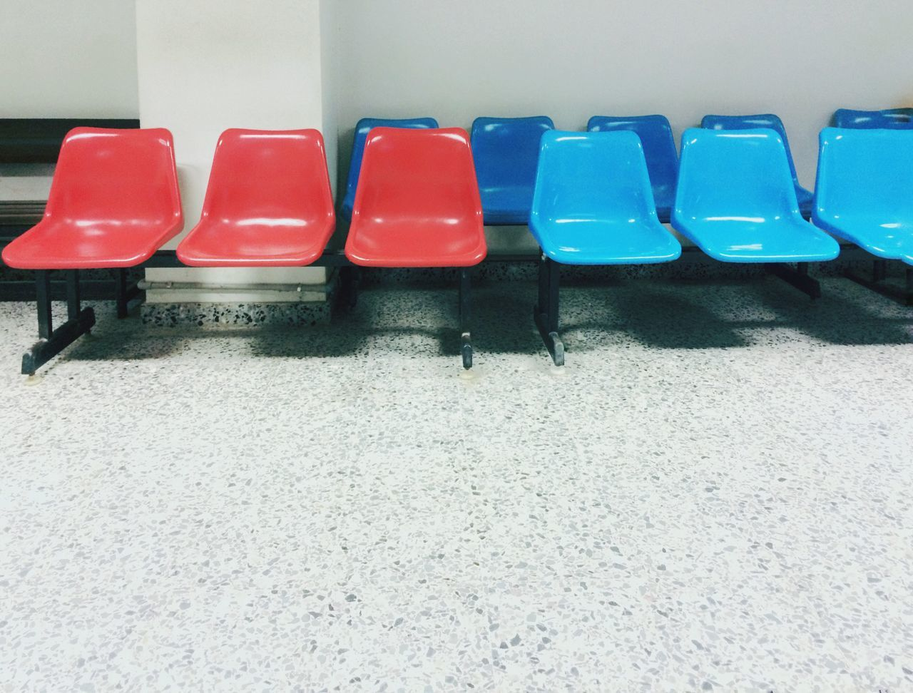 IPhoneography Chair In A Row Seat Empty Absence No People Day Folding Chair Indoors
