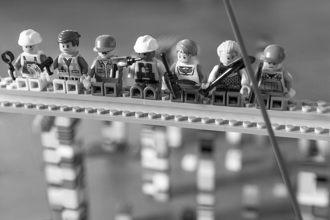 1932 Bnw Joe Rosentha LEGO Lunch Atop A Skyscraper NY NYC Rca Building Rockefeller Center