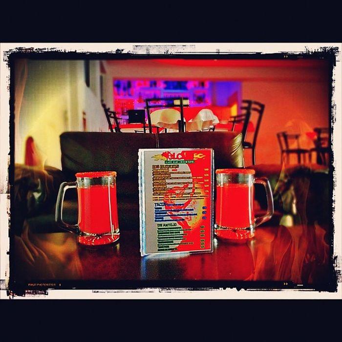Germato Cerveza Beer Clamato bebida drink volcano volcanocafe delicious mextagram instamood instagood instagram picoftheday fotodeldía mexico lalojm1 2012