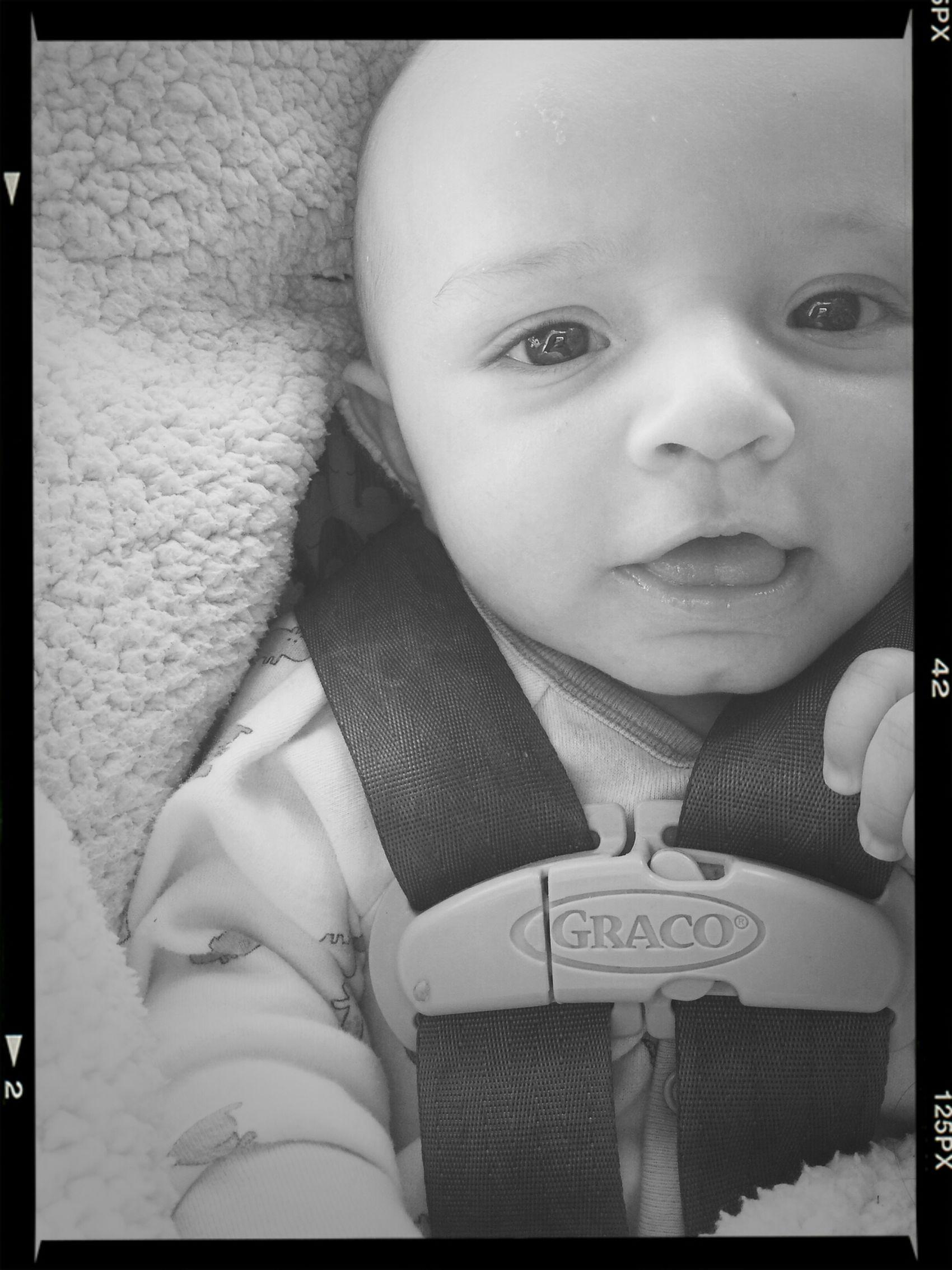 my sweet little angel. Hello World