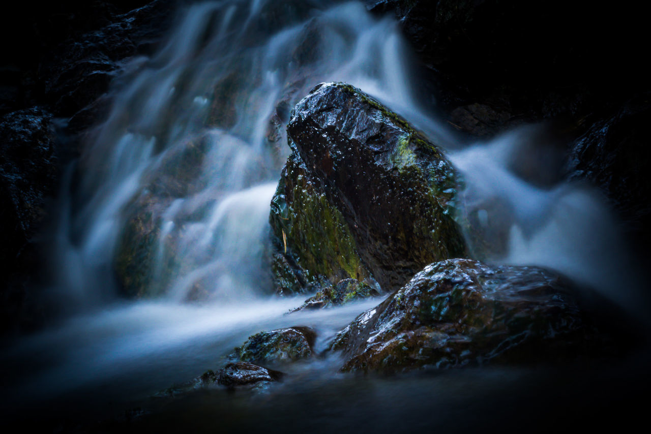 Beauty In Nature Blurred Motion Day Landscape Landscape_Collection Long Exposure Long Exposure Shot Motion Nature No People Outdoors Power In Nature River Rock - Object Rocks And Water Scenics Scotland Scotland Wild Landscape The Great Outdoors - 2017 EyeEm Awards Tranquil Scene Tranquility Water Water_collection Waterfall Waterfall_collection