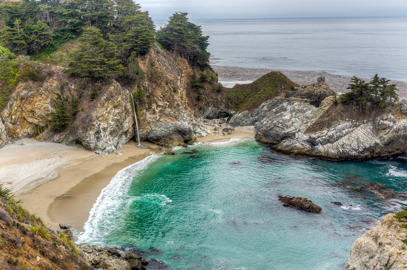 Big Sur Landscape Awesome Nature Near And Far