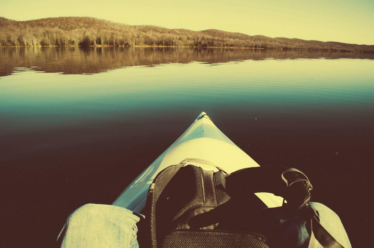 Kayaking Adventure VSCO Get Lost