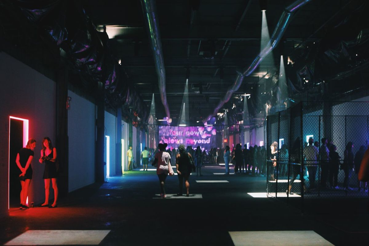 ArtExplosion Art Light And Shadow Bushwick NYC 29rooms Refinery29