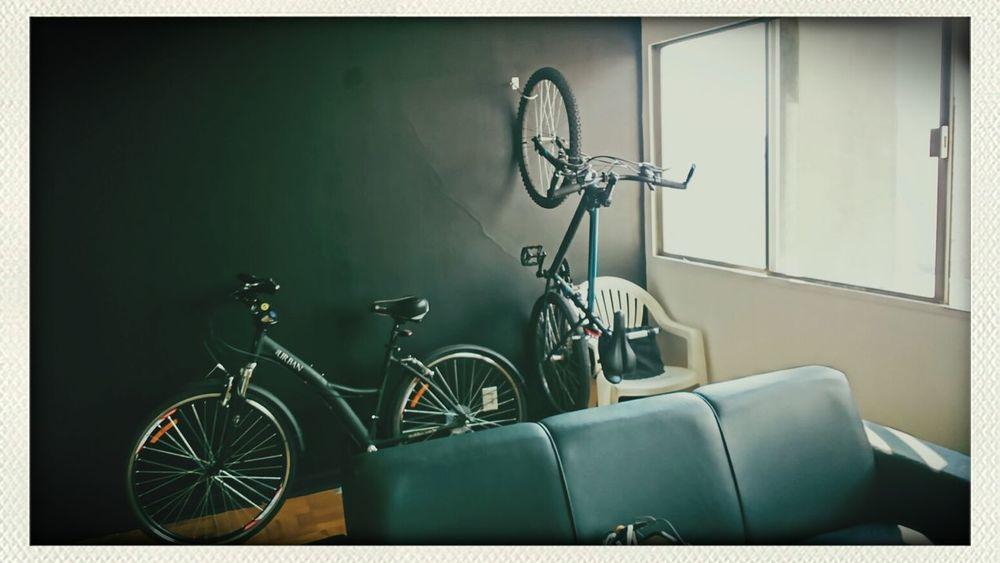my new living room Saopaulo Bike Flat
