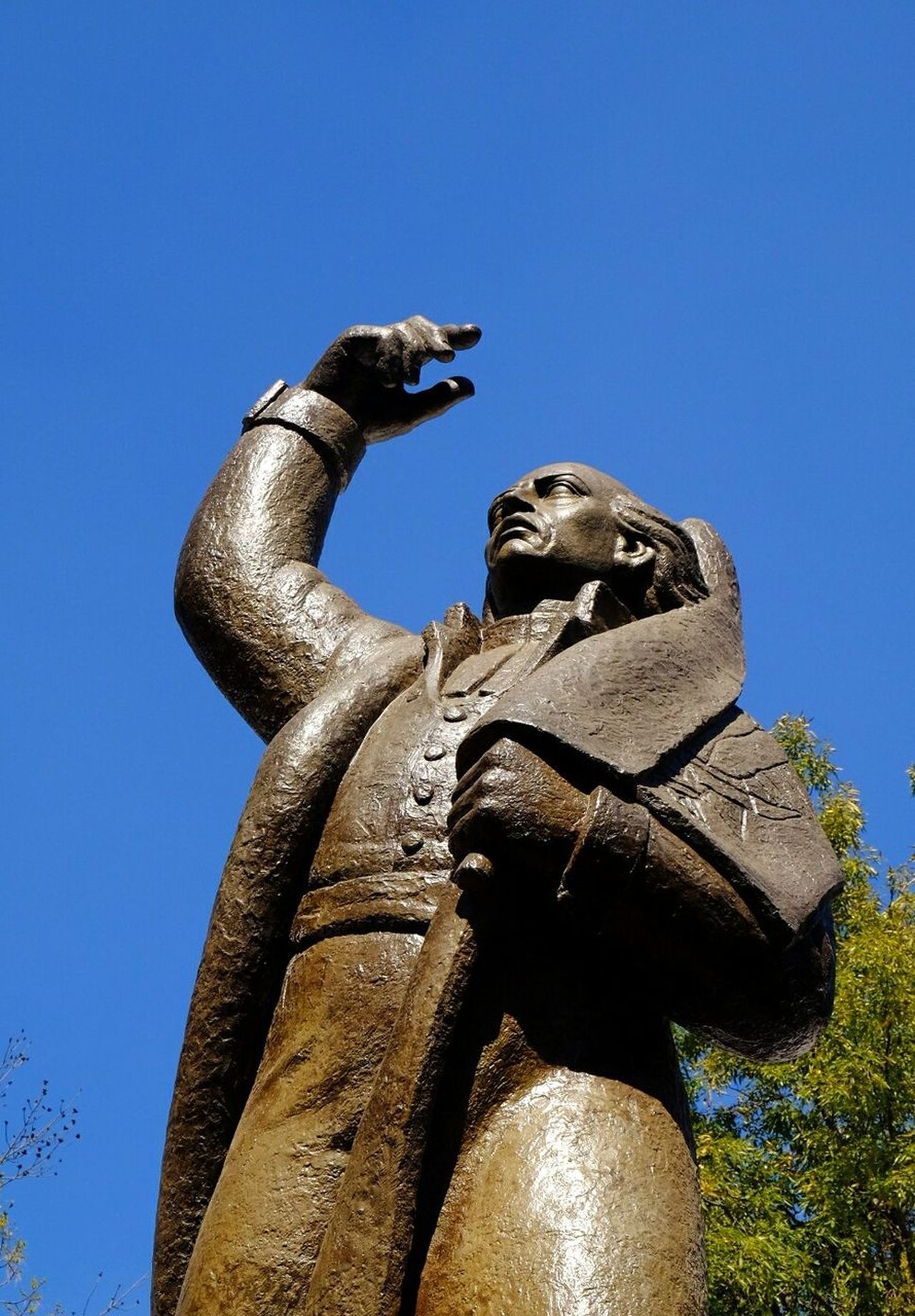 Coyoacan Park, Mexico DF Clear Sky Sky Statue Sculpture One Person Mexico_maravilloso MICDMX Outdoors Day Fuji X-T1 FUJIFILM X-T1 Velvia Fujixseries Travel Destinations Travel Photography Holidays Arquitecture And Art Mexico Xseries